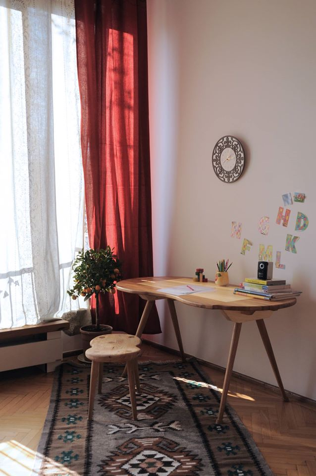 Capri Desk and Stool